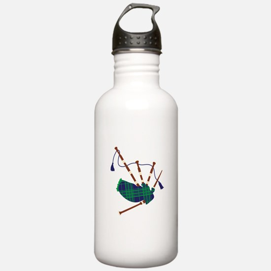 Scottish Bagpipes Water Bottle