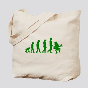 Green Leprechaun Evolution Tote Bag