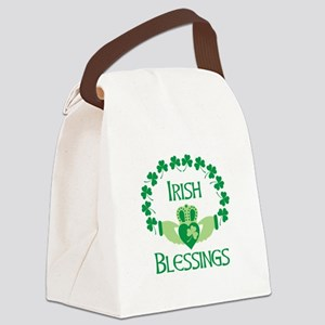 IRISH BLESSINGS Canvas Lunch Bag