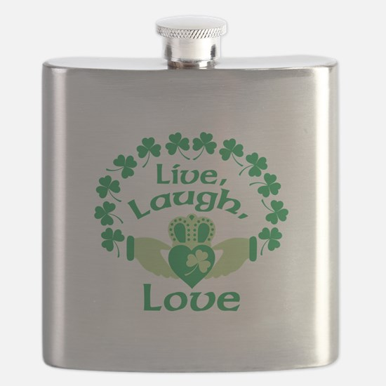 Live, Laugh, Love Flask