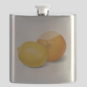 Lemon And Orange Flask