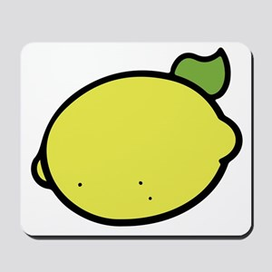 Lemon Drawing Mousepad