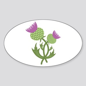 Thistle Flower Sticker