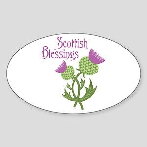 Scottish Blessings Sticker