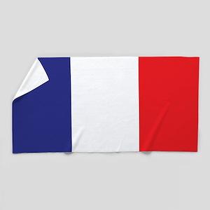 Flag of France Beach Towel