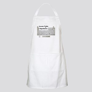 Periodic Table of Typography Apron