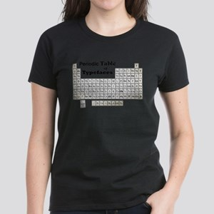 Periodic Table of Typography T-Shirt