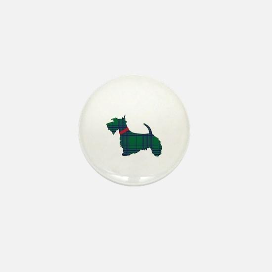 Scottish Terrier Dog Mini Button