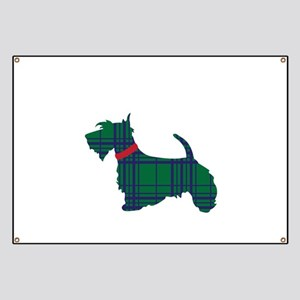 Scottish Terrier Dog Banner