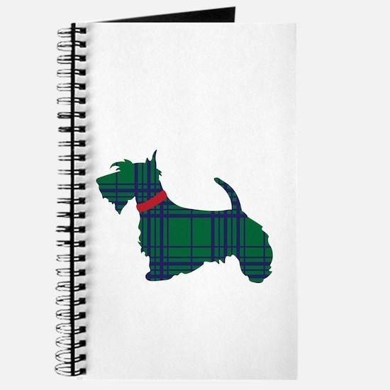 Scottish Terrier Dog Journal
