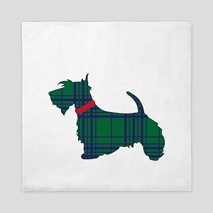 Scottish Terrier Dog Queen Duvet