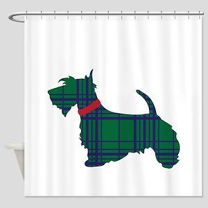 Scottish Terrier Dog Shower Curtain