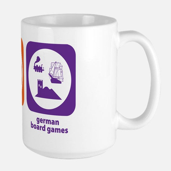 Eat Sleep German Board Games Large Mug