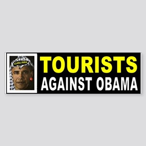 OBAMA TOURISTS BUMPER_001 Bumper Sticker