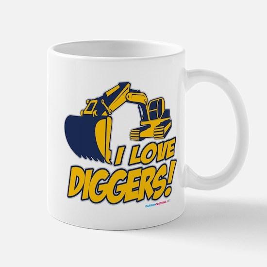 I Love Diggers! Mug