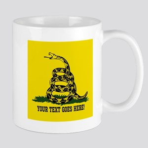 Personalized Dont Tread on Me Mugs