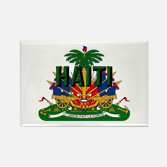 Haitian Coat of Arms Rectangle Magnet