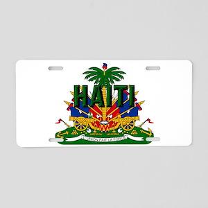 Haitian Coat of Arms Aluminum License Plate