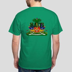 Haitian Coat Of Arms Dark T-Shirt