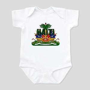 Haitian Coat of Arms Infant Bodysuit