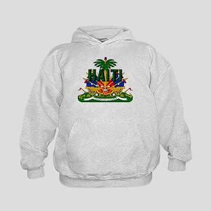 Haitian Coat of Arms Kids Hoodie
