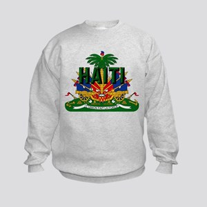Haitian Coat of Arms Kids Sweatshirt