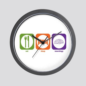 Eat Sleep Neurology Wall Clock