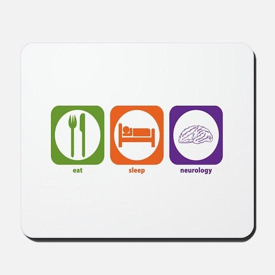 Eat Sleep Neurology Mousepad