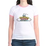 Imagination Train Station Jr. Ringer T-Shirt