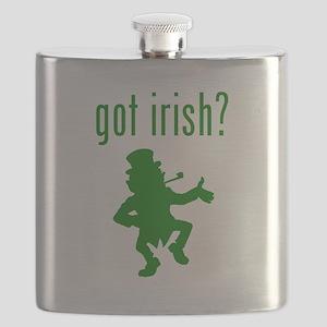 got irish? Leprechaun Flask