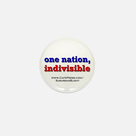 One Nation Indivisible Mini Button