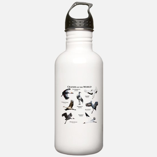 Cranes of the World Water Bottle