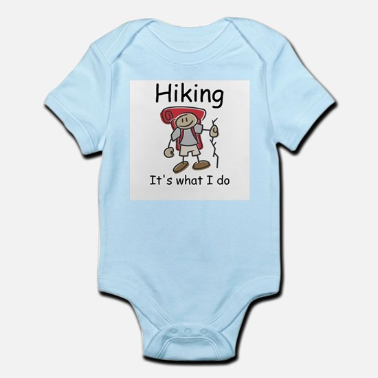 Hiking its what I do T-shirts and gifts. Body Suit