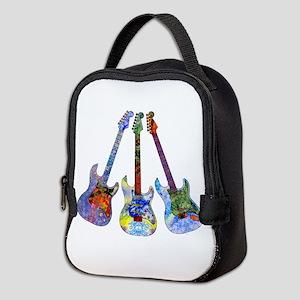 Wild Guitar Neoprene Lunch Bag
