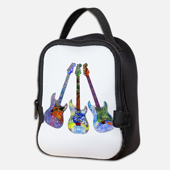 Wild Guitar Neoprene Lunch Bag