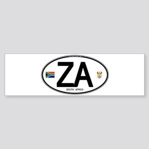 za-oval-2 Bumper Sticker