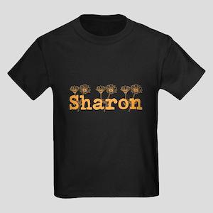 Orange Faith Personalized Name T-Shirt