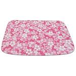 Pink Flowers Bathmat