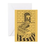 The Steps Greeting Cards (Pk of 10)