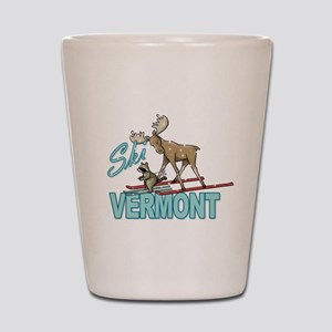 Ski Vermont Shot Glass