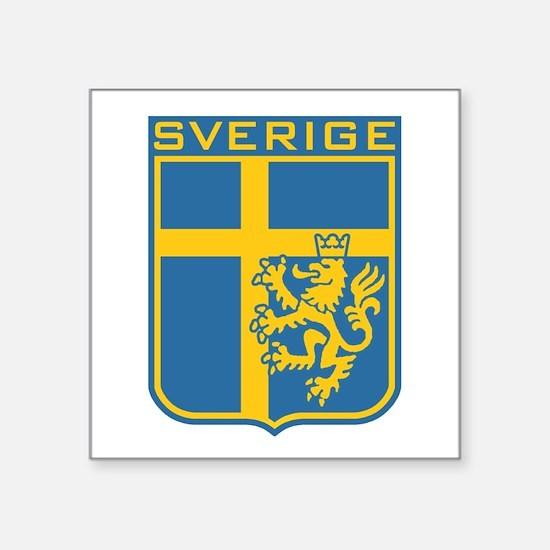 Sverige Rectangle Sticker