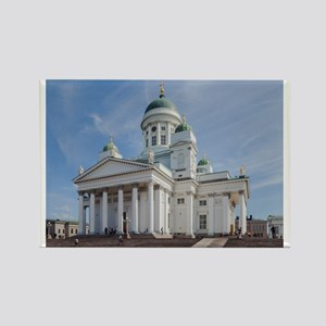 Helsinki Lutheran Cathedral, Finl Rectangle Magnet
