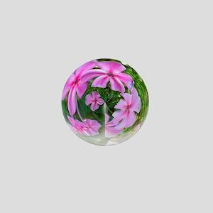 Petals in a Bubble Mini Button