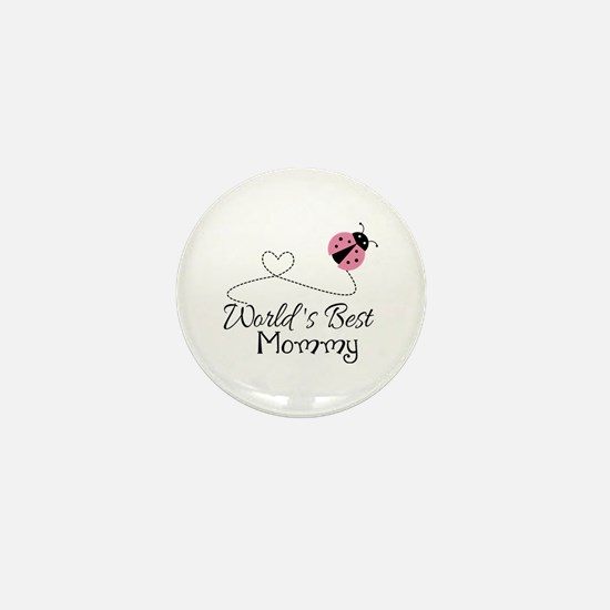 World's Best Mommy Mini Button