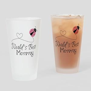 World's Best Mommy Drinking Glass