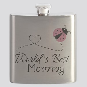 World's Best Mommy Flask