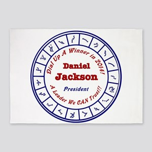 Daniel Jackson 2016 5'x7'Area Rug
