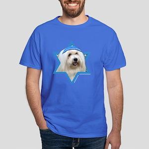 Hanukkah Star of David - Coton Dark T-Shirt