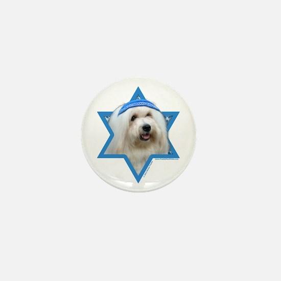 Hanukkah Star of David - Coton Mini Button