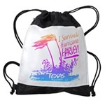 I Survived Hurricane Harvey Drawstring Bag